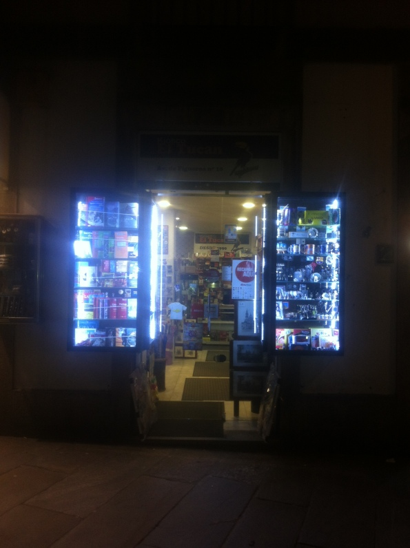 A New Newsstand Daily | Santiago de Compostela